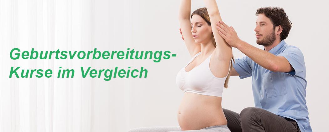 Geburtsvorbereitungskurs online im Vergleich