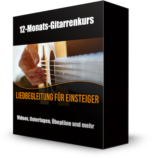 Christian Konrad Gitarre online lernen