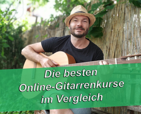 Online Gitarre lernen Gitarrenkurse Vergleich