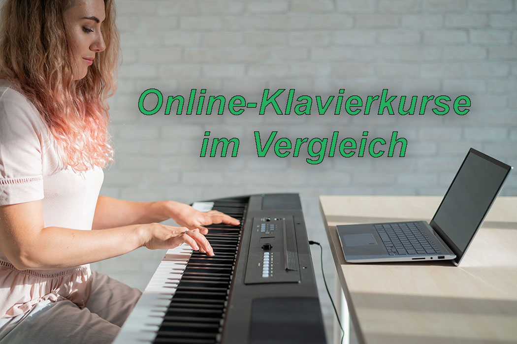 Online Klavier lernen Online Klavierkurse im Vergleich