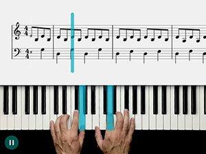 Skoove Piano App Trainer