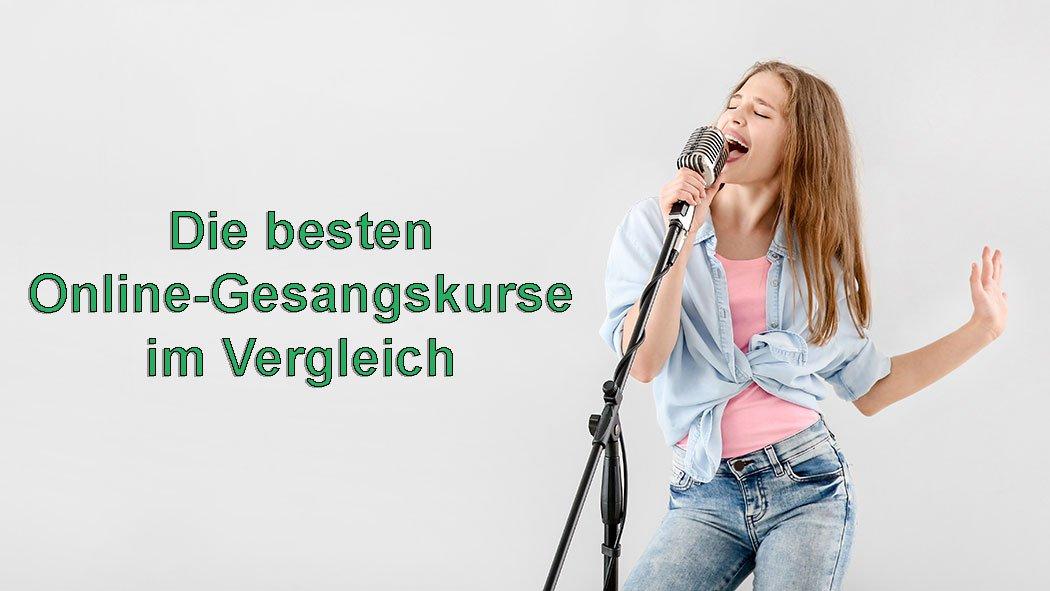Gesangsunterricht online Kurs singen lernen