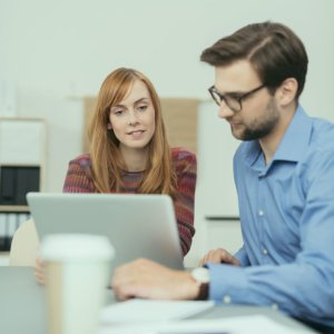 Online Marketing Paar